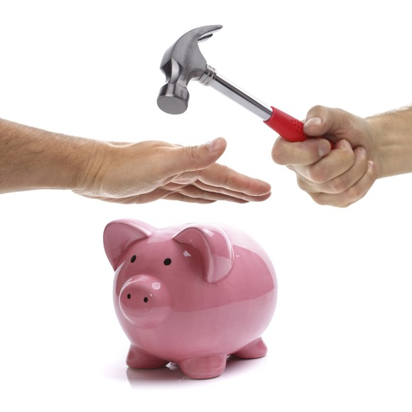 Empty Wallet-don't break your piggy bank & fixed deposits