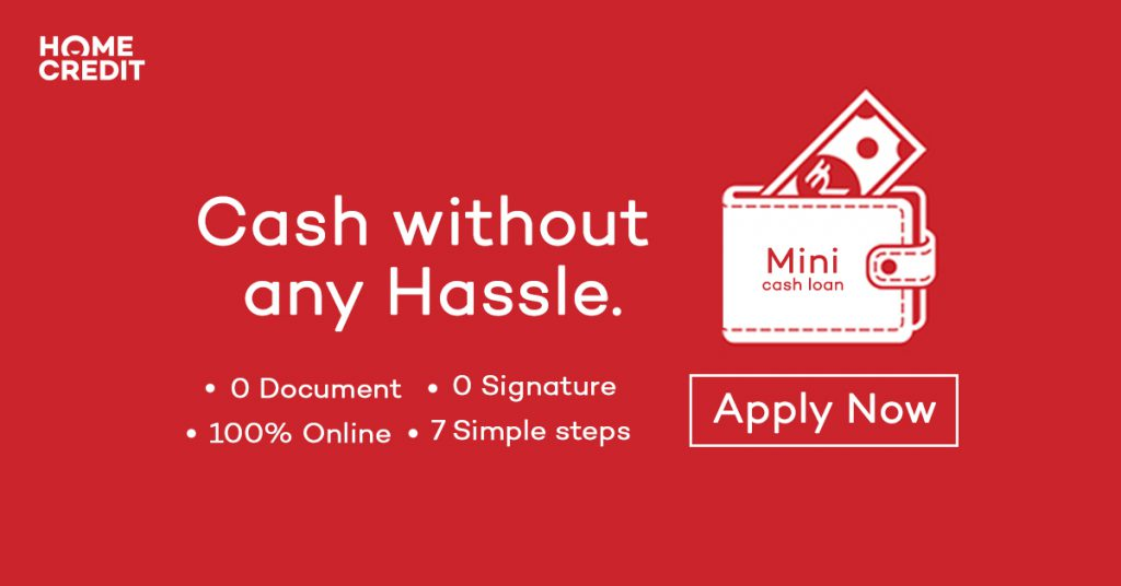 cash without any hassle