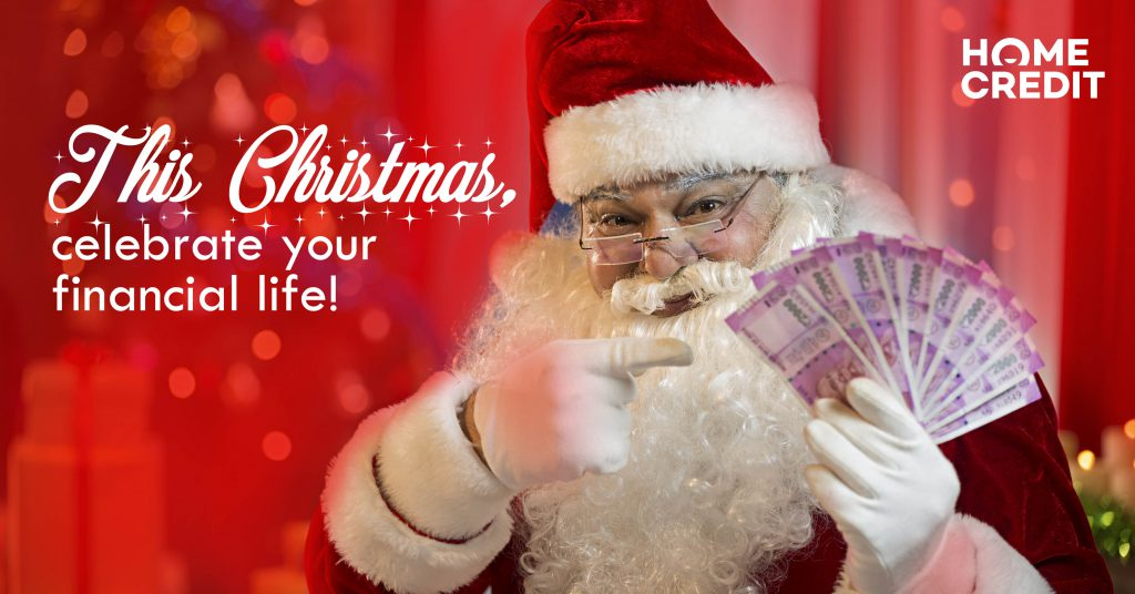 This Christmas, celebrate your financial life!