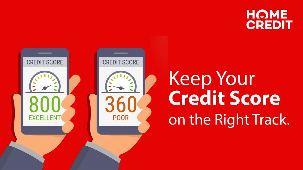 Keep Your Credit Score on the Right Track