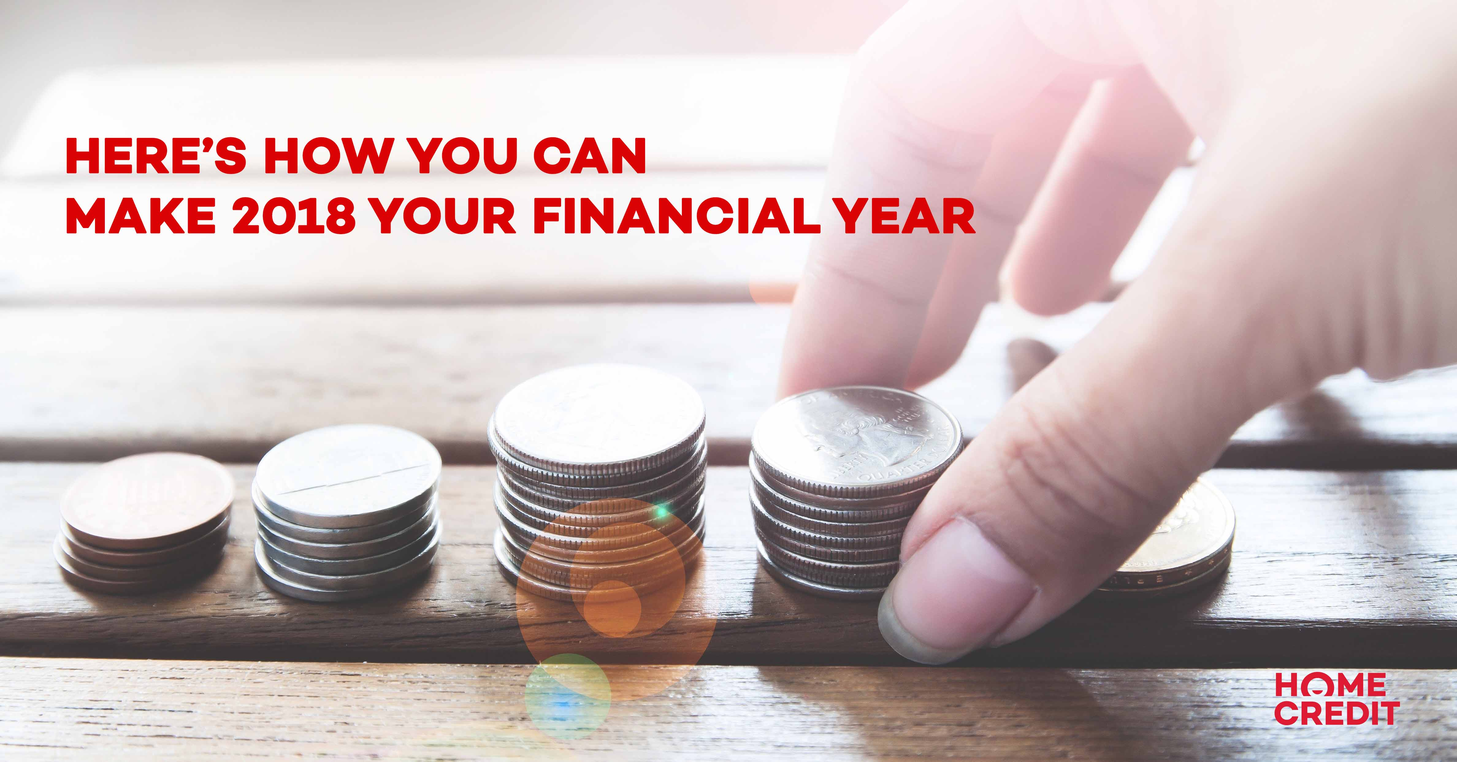 Here's how you can make 2018 your Financial Year