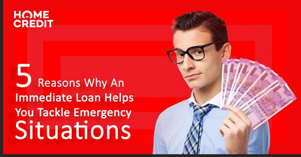 immediate loans in india