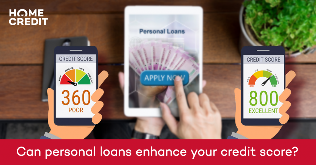 Can personal loans enhance your credit score?