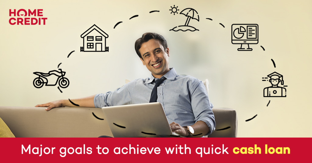 Major goals to achieve with quick cash loans