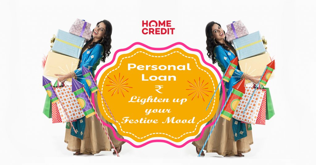 Home Credit personal loan for festivals