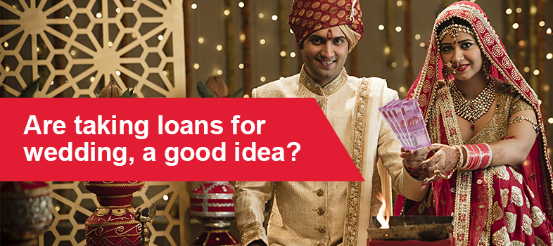 personal loan for weddings